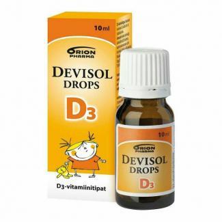 Витамин Devisol Drops D3 10 мл Финляндия