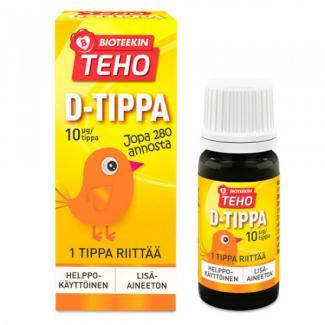 Витамин Teho D-tippa 8 мл Финляндия