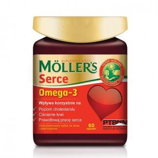 Mollers Omega-3 Serce, 60 капсул (Норвегия)
