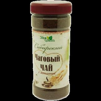 Чаговый чай с женьшенем тонизирующий 90 гр