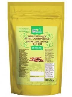 Экстракт Сибирской солодки сублимированный с клипсой 50 гр