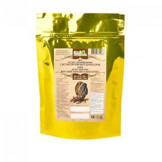 Экстракт чаги с экстрактом рожкового дерева ЭкоЦвет Bio 100 г