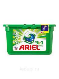 Ariel  Pods White 19 шт 3 в 1