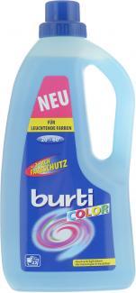 Жидкое средство для стирки цветного белья BURTI COLOR 1,5л
