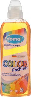 ДОМАЛЬ КОЛОР Концентрированный гель для стирки цветного белья с новой активной формулой защиты цвета 375мл