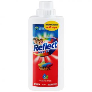 Reflect Колор - Универсальный концентрированный гель для цветного белья, 800 мл 50 стирок