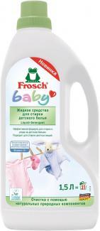 Frosch Werner&Mertz Жидкое средство для стирки детского белья,1500 мл 20 стирок