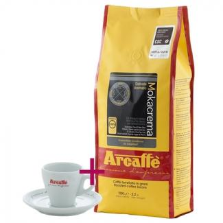 Купить кофе Arcaffe Mokacrema 1000 г + чашка для эспрессо