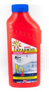 Устранитель засоров Scrubman Premium Турболан гранулированный, 600 г
