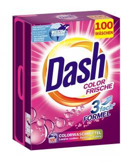 Стиральный порошок Dash Color Frische 6,5 кг 100 стирок купить в Москве