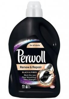 Купить Гель Perwoll Renew Repair Black для стирки черных и тёмных вещей 2,7 л. 45 стирок в Москве