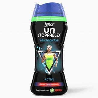 Купить Кондиционер парфюм для белья в гранулах Lenor Unstoppables Wascheparfum Active 210 гр в Москве