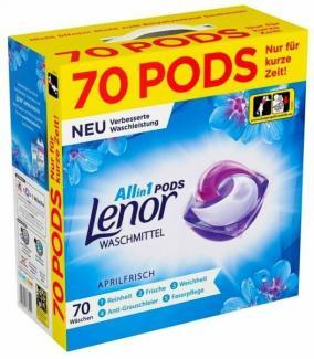 Купить Капсулы для стирки Lenor Pods Aprilfrisch All-in1 70 шт в Москве