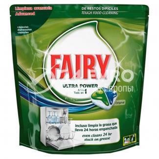 Купить таблетки для посудомоечной машины Fairy Original 84 шт в Москве