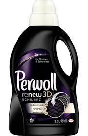 Гель Perwoll black renew для стирки черных и тёмных вещей 1,5 л Германия