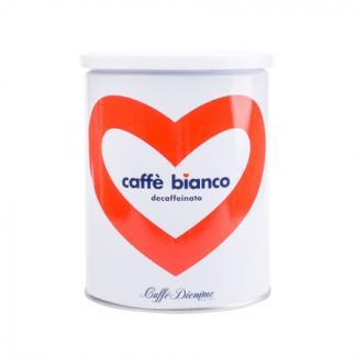 Купить кофе без кофеина Decaffeinato Miscela Blu Bianco в Москве