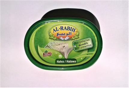 Халва (кунжутная) с фисташками 200 гр AL RABIH