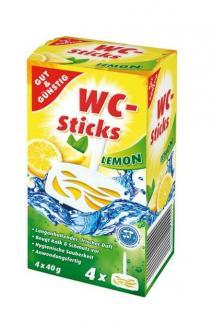 Освежитель воздуха Gut & Gunstig WC-Sticks для унитаза, 4шт