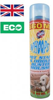 Средство для удаления запаха Xanto Whoops Pet Stain 660 мл (Великобритания)
