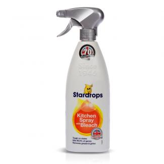 Спрей Stardrops Kitchen Spray Bleach  для чистки плит, раковин и др.,  750 мл. (Великобритания)