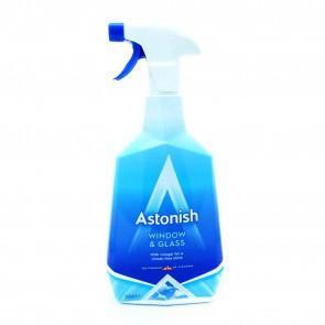 Средство для мытья окон на базе уксуса Astonish Window & Glass Cleaner 750 мл.