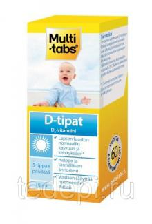 Multi tabs d-tipat D3 Витамин D3 для детей 10 мл