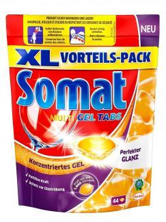 Средство для мытья посуды в посудомоечной машине SOMAT Multi Gel, 44 шт.
