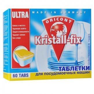 Luxus Professional  КРИСТАЛЛ ФИКС Таблетки для ПММ, 60 шт x 18 г