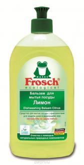 Frosch Werner&Mertz Бальзам для мытья посуды Лимон, 500 мл