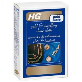 HG Салфетка для придания блеска золоту, 1 шт
