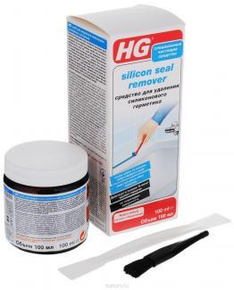 HG Средство для удаления силиконового герметика, 100 мл