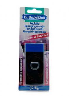 Др. Бекман Скребок для чистки стеклокерамических плит с двумя запасными лезвиями, 1 шт
