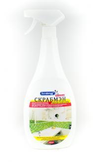 Антибактериальный удалитель грибка и плесени Scrubman Premium Антиплесень 750 мл