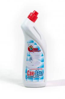 Сансаныч №5 средство для сантехники утенок белый 750 мл