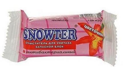 Snowter Запаска для очистителя  унитаза Цветочный, 40 г