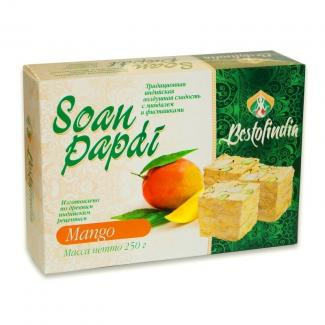 Сон Папди Манго (Soan Papdi Mango) индийские сладости