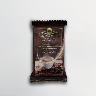Шоколад колумбийский молочный с афродизиаками под кофе 15 г